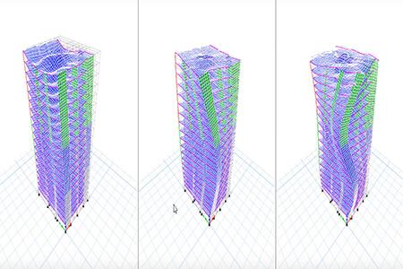 طراحی سازه های فولادی در دوره نخبگان طراحی
